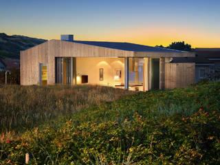 Luxe vakantiehuisje in de duinen van Vlieland Minimalistische huizen van BNLA architecten Minimalistisch
