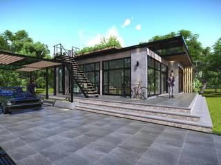 ภาพ3D บ้าน modern loft :   by London 38