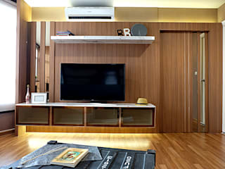 สไตล์ Natural Modern:   by Knock door interior design & decoration