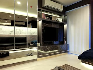 สไตล์โมเดิร์น:   by Knock door interior design & decoration