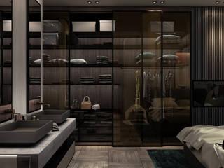 AK - Westown:  غرفة نوم تنفيذ STUDIO PARADIGM