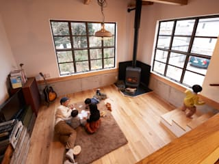 URBAN GEAR Living room Solid Wood Wood effect