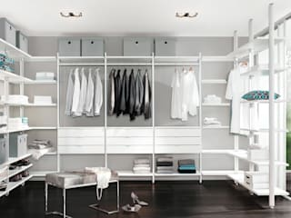 CLOS-IT - Dressing Room Shelving System Classic style dressing room by Regalraum UK Classic