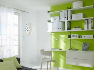ON-WALL - Office Shelving Systems Modern style study/office by Regalraum UK Modern