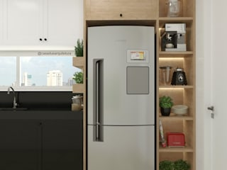 CASA DUE ARQUITETURA Small kitchens