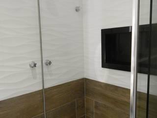 Banheiro: Banheiros  por Seleto Studio Design de Interiores,Rústico