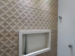 Banheiro: Banheiros  por Seleto Studio Design de Interiores,Minimalista