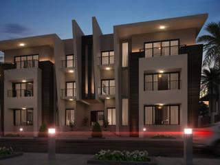 Exterior design Villa 3& 4 bởi Rêny Hiện đại