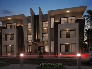 Exterior design Villa 3& 4 de Rêny Moderno
