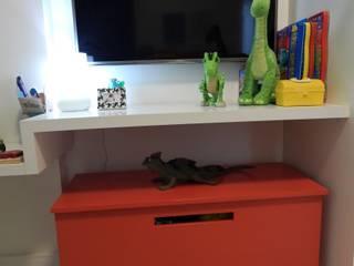 Quarto Infantil: Quartos dos meninos  por Seleto Studio Design de Interiores,Moderno
