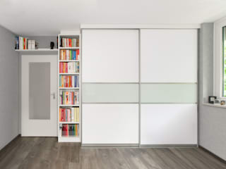 urbana möbel Study/officeCupboards & shelving Komposit Kayu-Plastik White