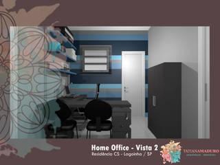 Home Office : Escritórios  por Tatiana Maduro Arquitetura . Interiores,Moderno
