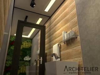 Architelier Arquitetura e Urbanismo Baños de estilo rústico