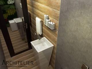 Baños de estilo rústico de Architelier Arquitetura e Urbanismo Rústico