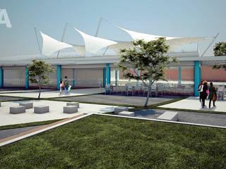 Diseño de varios proyectos: Escuelas de estilo  por Soluciones Técnicas y de Arquitectura