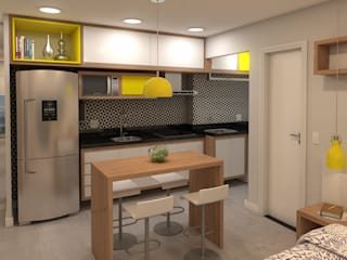 Stúdio 33 por Arquitetos Urbanistas Planejamento e Projetos Ltda