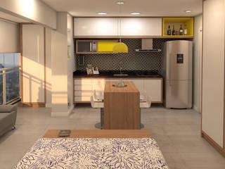 Stúdio 34 por Arquitetos Urbanistas Planejamento e Projetos Ltda