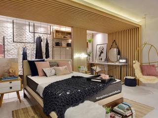 Kamar Tidur oleh ARQUITETURA - Camila Fleck, Skandinavia