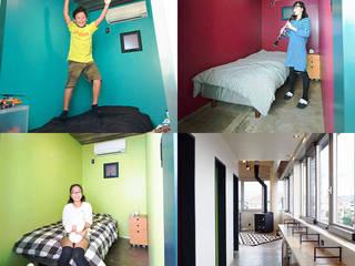 えっ!元銀行!?劇的リノベーションで手に入れた、世界で一つだけの住まい オリジナルデザインの 子供部屋 の オレンジハウス オリジナル