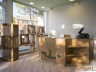 Negozio Biologico a Udine Negozi & Locali commerciali in stile minimalista di Nardi Minimalista