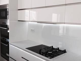 Kitchen DOCE White: Cozinhas  por DECORAÇÃO MODERNA