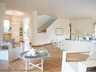 Home Staging Soggiorno minimalista di Nardi Minimalista