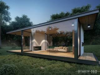 Coffe House StudioA&W Nowoczesne domy od Architekt Łukasz Bulga Studio A&W Kraków | Projekty domów nowoczesnych Nowoczesny