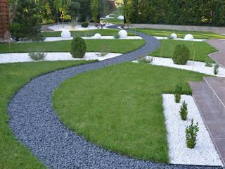 Ogród z lustrem od Studio B architektura krajobrazu Bogumiła Bulga