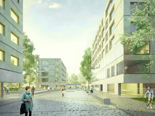 Quartier de Vernier de FRPO - Rodriguez & Oriol Arquitectos