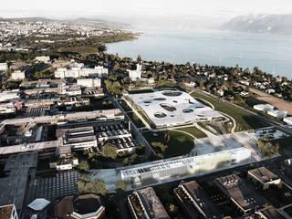 EPFL Pavilions de FRPO - Rodriguez & Oriol Arquitectos