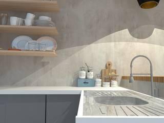 Moderne Küchen von Garnet Design de Interiores Modern