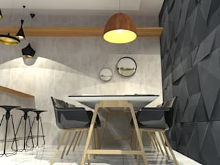 Moderne Esszimmer von Garnet Design de Interiores Modern