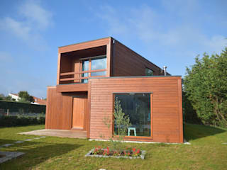 Wooden houses by Rusticasa, Modern