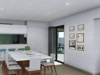 Dining room by ARBOL Arquitectos , Minimalist
