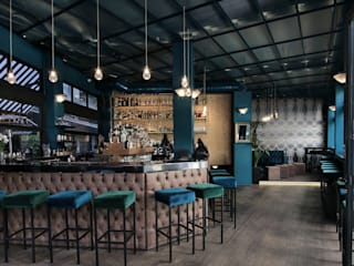 Borsalino Bar Eclectic style bars & clubs by Lina Patsiou Eclectic