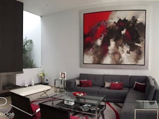 Diseño Interior de Vivienda.: Salas / recibidores de estilo  por EPG  Studio