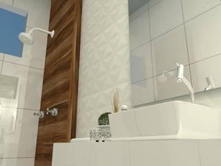 Moderne Badezimmer von Garnet Design de Interiores Modern