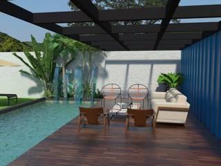 Moderne Pools von Garnet Design de Interiores Modern