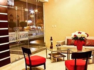 Diseño Interior Comercial - Recepción Hostal: Hoteles de estilo  por EPG  Studio