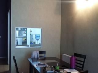 Remodelacion de living comedor:  de estilo  por Laura Artola- Diseño de Interiores