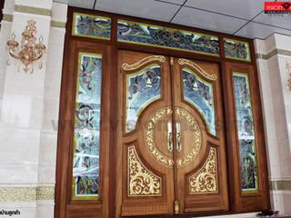 ประตูไม้สัก:   by บริษัท วิชั่นกลาส อินดัสทรีส์ จำกัด