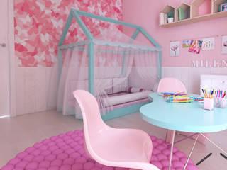 Chambre fille de style  par ZIN Studio, Moderne