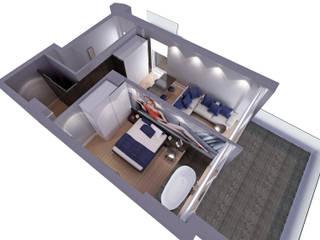 RESIDENZA TURISTICA ALBERGHIERA Be S' HOUSE Camera da letto eclettica di Gualtiero Del Zompo dzarch Eclettico