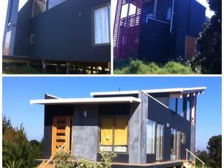 test 232: Casas ecológicas de estilo  por Arquitectura Amanda Perez Feliú