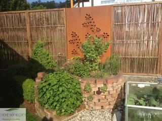 Kundenprojekte naturgeflechte24 Ausgefallener Garten