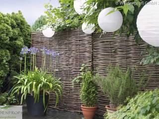 Kundenprojekte naturgeflechte24 Moderner Garten Holz