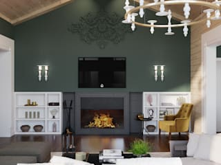 Wide Design Group Living room Green