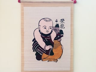 Vinh hoa:  Nursery/kid's room by Tranh Đông Hồ
