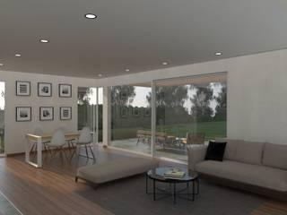 Living room by IMAGENES MR, Modern