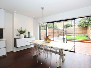 Converted Period House Modern dining room by Corebuild Ltd Modern